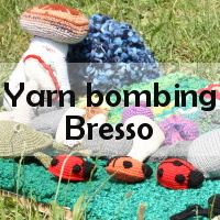 Yarn Bombing Bresso - 2014